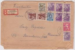 Germany - Berlin-Brandenburg, 1945, Under Russian Occupation, Registered Letter - Soviet Zone