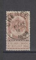 COB 55 Oblitération Centrale CHENEE - 1893-1907 Coat Of Arms