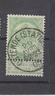 COB 56 Oblitération Centrale OSTENDE Station - 1893-1907 Coat Of Arms