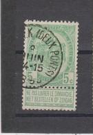 COB 56 Oblitération Centrale SCHAERBEEK Deux-Ponts - 1893-1907 Coat Of Arms
