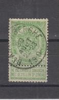 COB 56 Oblitération Centrale BLANKENBERGHE - 1893-1907 Coat Of Arms