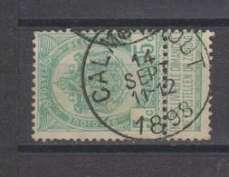 COB 56 Oblitération Centrale CALMPTHOUT - 1893-1907 Coat Of Arms