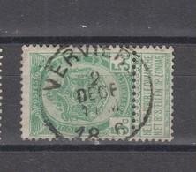 COB 56 Oblitération Centrale VERVIERS - 1893-1907 Coat Of Arms