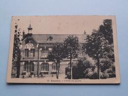 L'Ecole Des Garçons SOLESMES ( 13 ) Anno 1936 ( Voir Photo ) ! - Solesmes