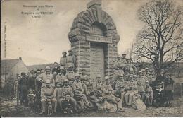VERGES  -  39  - Monument Aux Morts Et Pompiers - Frankrijk