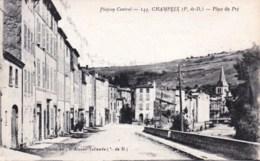 63 - Champeix - Place Du Pré - Francia
