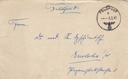 Feldpost - FP Nr. 15552 Nach Iserlohn - 1940  (45336) - Alemania