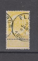 COB 54 Oblitération Centrale FLERON - 1893-1907 Coat Of Arms