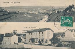 54) Auboué : Deux Vues - Générale - Hôtel St-Antoine (1912) (//) - Francia