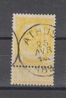 COB 54 Oblitération Centrale ATHUS - 1893-1907 Coat Of Arms