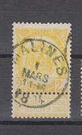 COB 54 Oblitération Centrale MALINES - 1893-1907 Coat Of Arms