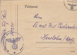 Feldpost - FP Nr. 00224 Nach Iserlohn - 1942  (45337) - Deutschland