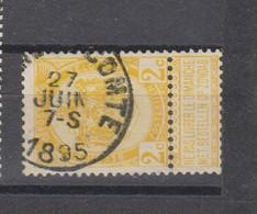COB 54 Oblitération Centrale BRAINE-LE-COMTE - 1893-1907 Coat Of Arms
