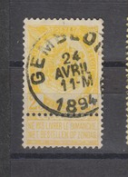 COB 54 Oblitération Centrale GEMBLOUX - 1893-1907 Coat Of Arms