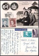Liechtenstein - 1967 - Postkarte - Hans-Adam II - Marie Kinský Von Wchinitz Und Tettau - Königshäuser, Adel