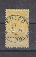 COB 54 Oblitération Centrale WATERLOO - 1893-1907 Coat Of Arms