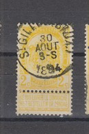 COB 54 Oblitération Centrale ST-GILLES (BRUX.) - 1893-1907 Coat Of Arms