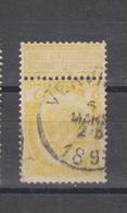 COB 54 Oblitération Centrale VERVIERS - 1893-1907 Coat Of Arms