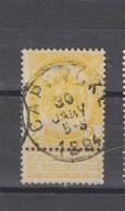 COB 54 Oblitération Centrale CAPRYCKE - 1893-1907 Coat Of Arms
