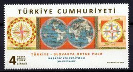 2018 TURKEY SLOVAKIA JOINT ISSUE MNH ** - 1921-... Repubblica