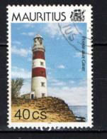 MAURITIUS - 1995 - Lighthouse: Pointe Aux Caves - USATO - Mauritius (1968-...)