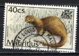MAURITIUS - 1994 - Mongoose - USATO - Mauritius (1968-...)