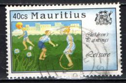MAURITIUS - 1994 - Children's Paintings Of Leisure Activities - USATO - Mauritius (1968-...)