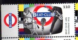 2019 Germany - German TV Legends Show - Beat Club  Ab 1965- 1v With Tab  MNH** MiNr. 3503 Music, Television, Media, - Ongebruikt