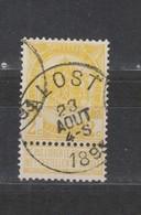 COB 54 Oblitération Centrale ALOST - 1893-1907 Coat Of Arms