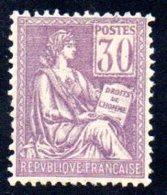FRANCE   -  N° 115   -  N+ - - 1900-02 Mouchon