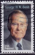 United States, 2019, George H  Busch, 55c, Sc#5393, Used Off Paper - Verenigde Staten