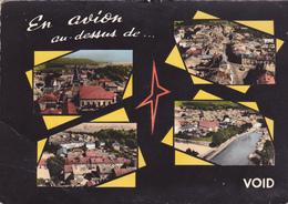 CPM 55 @ VOID En 1961 - Multivues 4 Vues En Avion - Other Municipalities