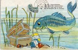 1er Avril 122, Humour Poisson Humanisé Tabac Pipe - 1° Aprile (pesce Di Aprile)