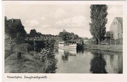 AK Himmelpfort Bei Fürstenberg, Dampferanlegestelle 1957 - Fuerstenberg