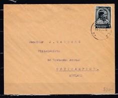Brief Van Antwerpen 17A  Naar Southampton (England) - Belgique