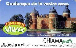 *CHIAMAGRATIS - N.501 - LEGNO MARKET* - Scheda NUOVA (MINT) (DT) - Italia