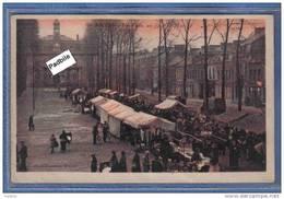 Carte Postale 59. Anzin Jour De Marché Trés Beau Plan - Anzin