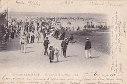 CARTE POSTALE ANCIENNE 62 BOULOGNE SUR MER VUE GENERALE DE LA PLAGE EDITIONS / LL N° 74 - Boulogne Sur Mer