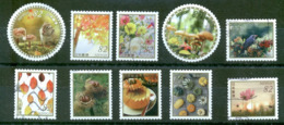 Japan - Autumn Greetings Stamps 2018 - 1989-... Emperor Akihito (Heisei Era)