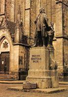 Leipzig, Bach-Denkmal Vor Der Thomaskirche, Statue Johann Monument Thomas Church - Leipzig