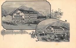 ZELL Am SEE AUSTRIA~GASTHOF Zum LEBZEFTER~1900s A BAUMGARTNER KUNSTLER POSTCARD 42585 - Zell Am See