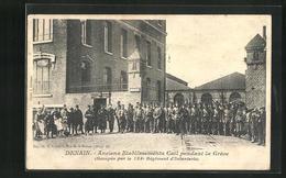 CPA Denain, Anciens Etablissements Cail Pendant La Gréve - Denain