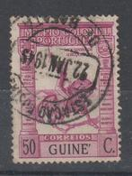 GUINE CE AFINSA  231 - POSTMARKS OF GUINE - Guinée Portugaise