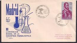 España - 1963 - Cachets Spéciaux - II Congrès Biennal De L'industrie Pharmaceutique - Fabriken Und Industrien