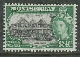 Montserrat, EIIR, 1955, $2.40, MH * - Montserrat
