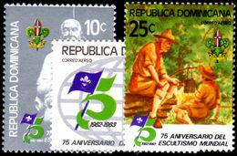 Dominican Republic 1982 BOY SCOUTS Unmounted Mint. - Dominican Republic