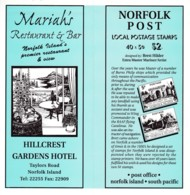 Norfolk Island 1998 Local Buildings Booklet CTO - Norfolk Island