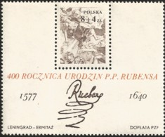 V) 1977 POLAND, STONING OF ST. STEPHEN BY RUBENS, PETER PAUL RUBENS (1577-1640), FLEMISH PAINTER, MNH - Unused Stamps