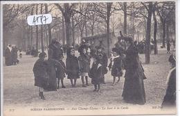 PARIS- SCENES PARISIENNES- AUX CHAMPS ELYSEES- LE SAUT A LA CORDE- ND 717 - Champs-Elysées