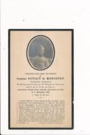 Décés Militaire Décédé Jacques Siffait De Moncourt Maréchal Des Logis 13e Régiment De Dragons Décoration Croix De Guerre - Images Religieuses